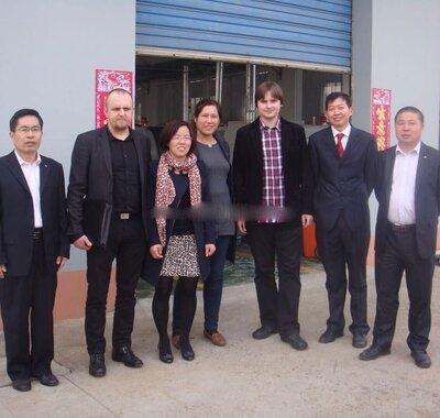 2016年澳大利亚客人Minos参观工厂
